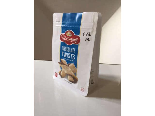 Sachet flat bottom structure kraft biscuits